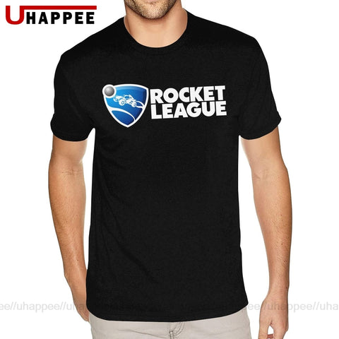 Image of Cool Shirt Designs Team Rocket League Tshirt Men's Custom Short Sleeved White Crew Neck T Shirt