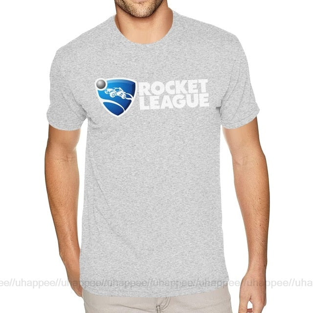 Cool Shirt Designs Team Rocket League Tshirt Men's Custom Short Sleeved White Crew Neck T Shirt