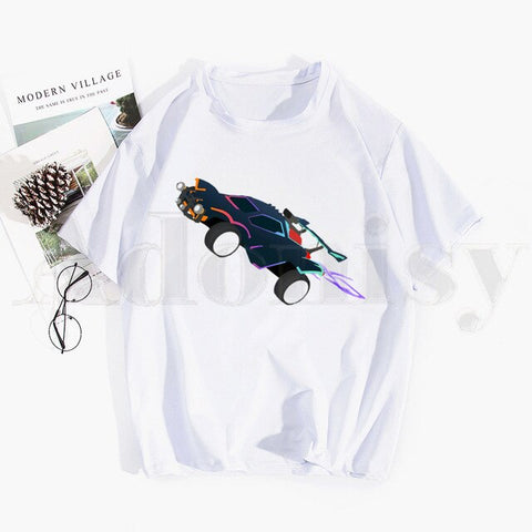 Game Rocket League What A Save T Shirts Tops Tees Men Women Short Sleeve Casual T Shirt Streetwear Funny