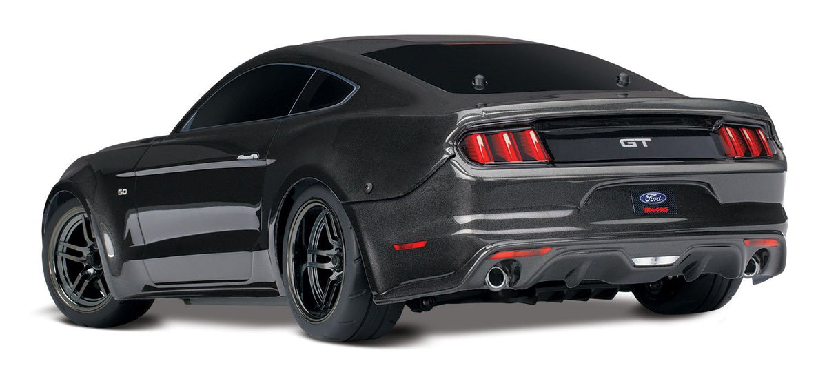 Traxxas 4-Tec 2 0 Ford Mustang GT 4WD Touring Car, Black, 83044-4-BLK