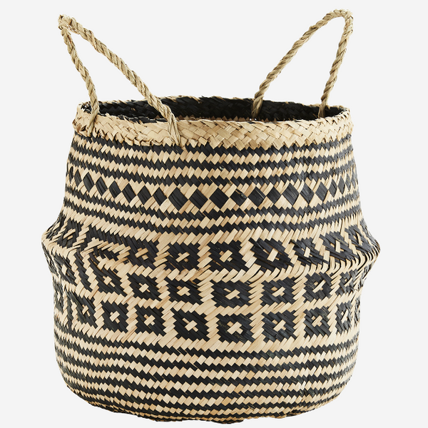 Seagrass Geometric Storage Basket