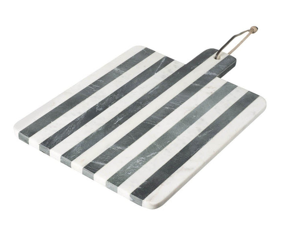 Nautical Style Stripy Marble Chopping Board