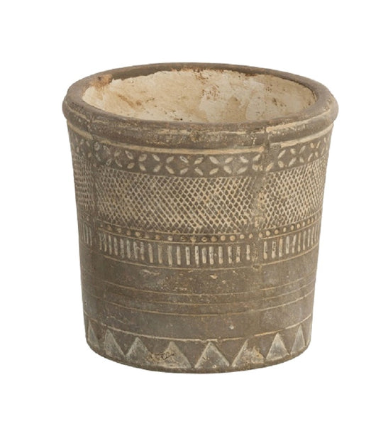 Rustic Ethnic Planter Pot