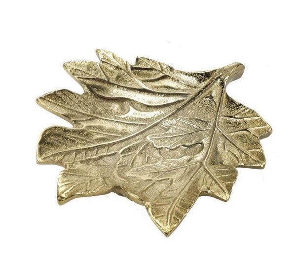 Antique Style Jewellery Leaf Trinket Dish