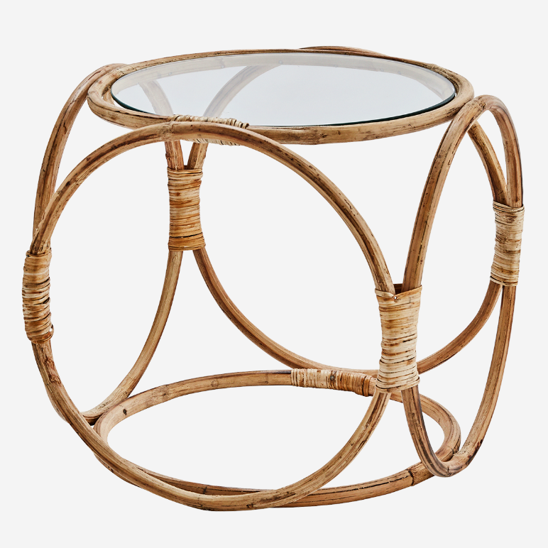 Natural Wooden Bamboo Coffee Table