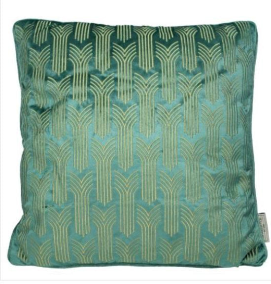 Art Deco Style Soft Cushion And Cover