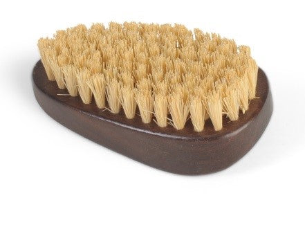 Natural Sisal Walnut Wood Hand Nail Cleaner Scrubbing Brush