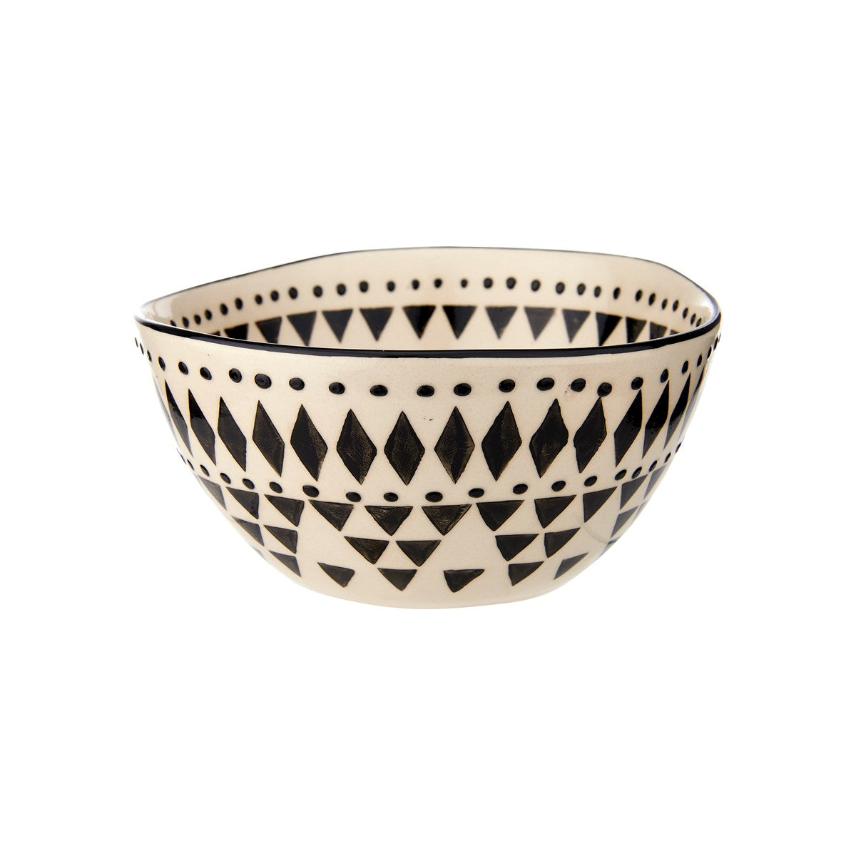 Boho Geometric Wobbly Bowl