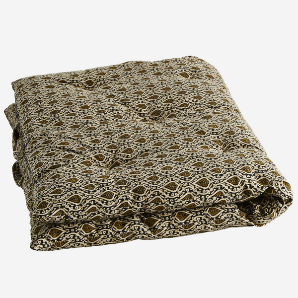 Olive Seating Mattress Cushion