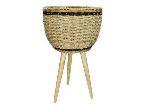 Boho Seagrass Basket Planter
