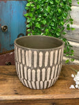 Rustic Moroccan Style Plant Pot