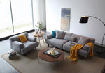 Zyii-Nordic small apartment living room 4 people simple modern sofa-JF01