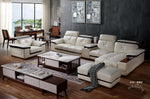 Modern fashion sectional genuine leather sofa-JL8132