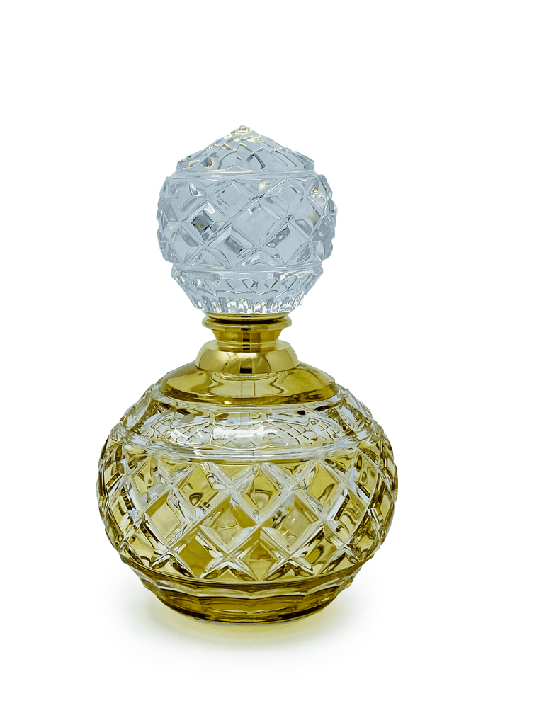 Amber Perfume Bottle - The Emperor's Lane