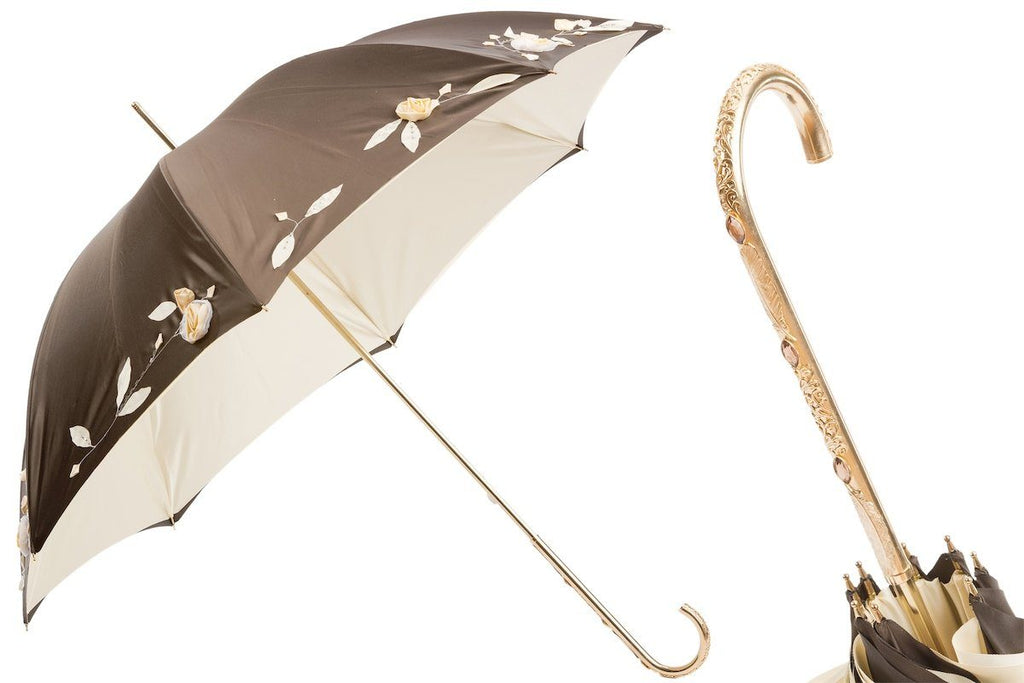 Luxury Hand Embroidered Umbrella - The Emperor's Lane