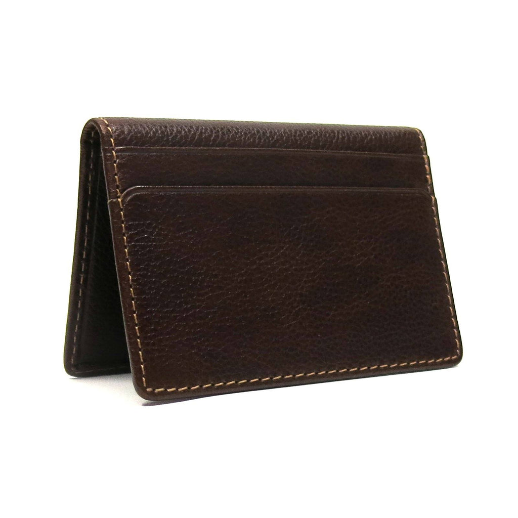 Garth Club Card Case, Brown - The Emperor's Lane