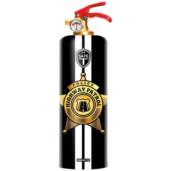 Highway Patrol Fire Extinguisher - The Emperor's Lane