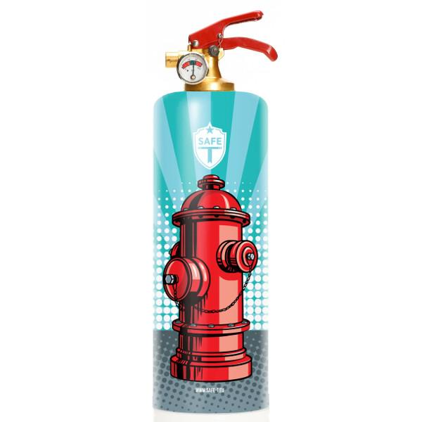 Pop Hydrant Fire Extinguisher - The Emperor's Lane
