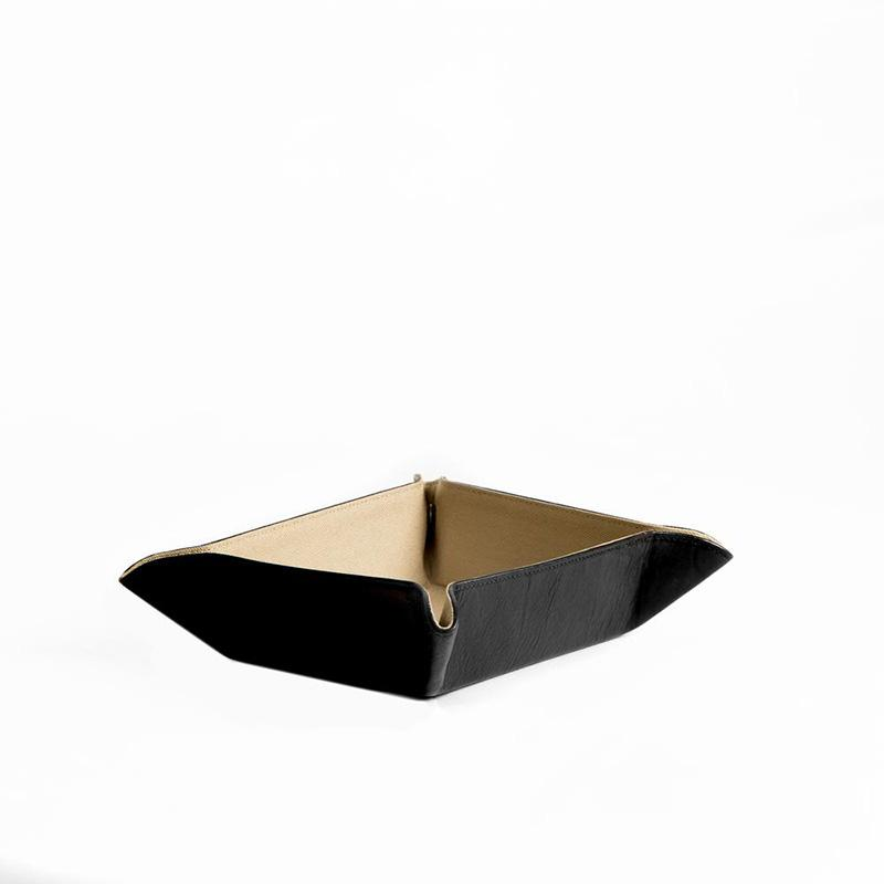 Becker Catch All Tray, Black - The Emperor's Lane