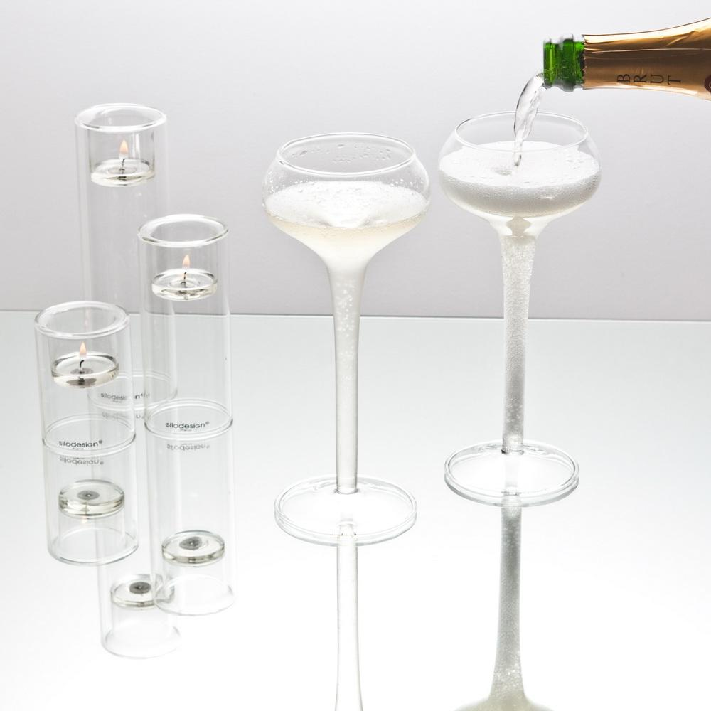 Château Champagne Glass, Set of 4 - The Emperor's Lane