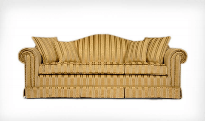Carolina Camel Back Sofa - The Emperor's Lane