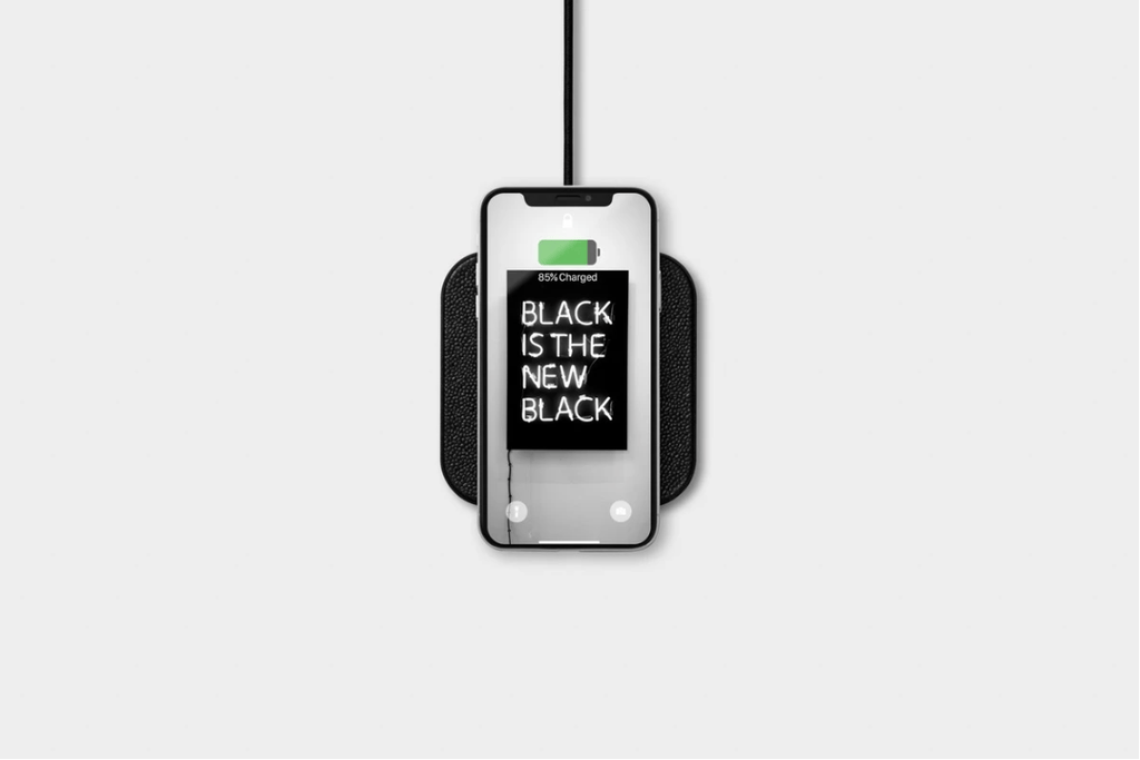 Single Device Wireless Charger, Black