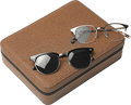 Sunglass Organizer, Chocolate Brown - The Emperor's Lane