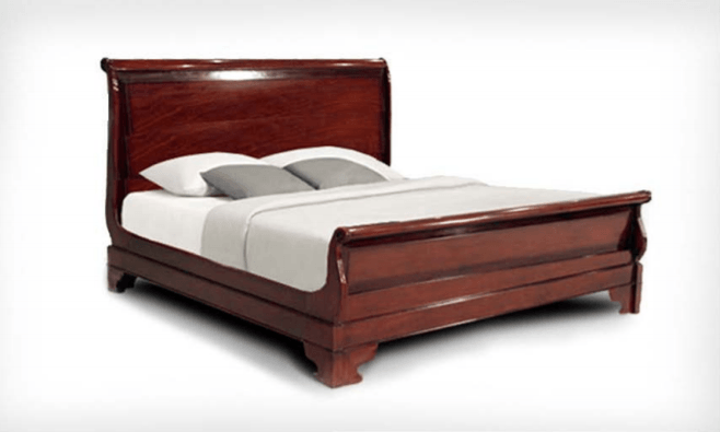 Classic Sleigh Bed, King or Queen - The Emperor's Lane
