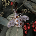 Classic Bee Hanging Ornament, Amber - The Emperor's Lane