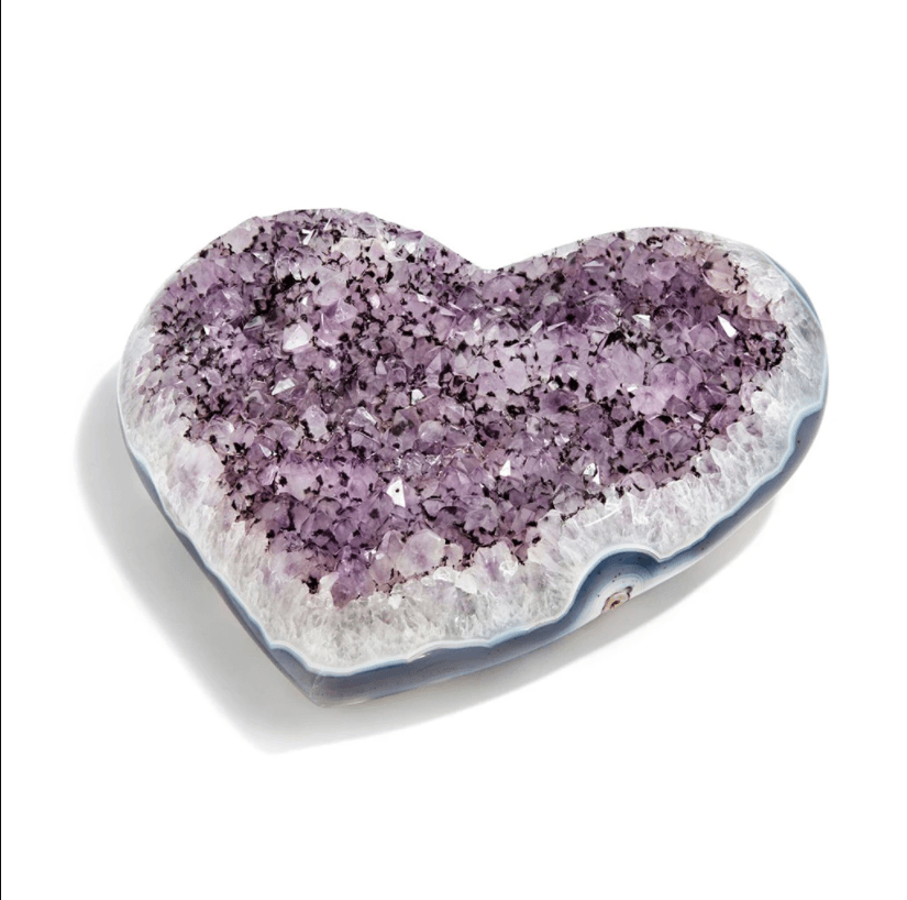Cuore Heart Amethyst, Large - The Emperor's Lane