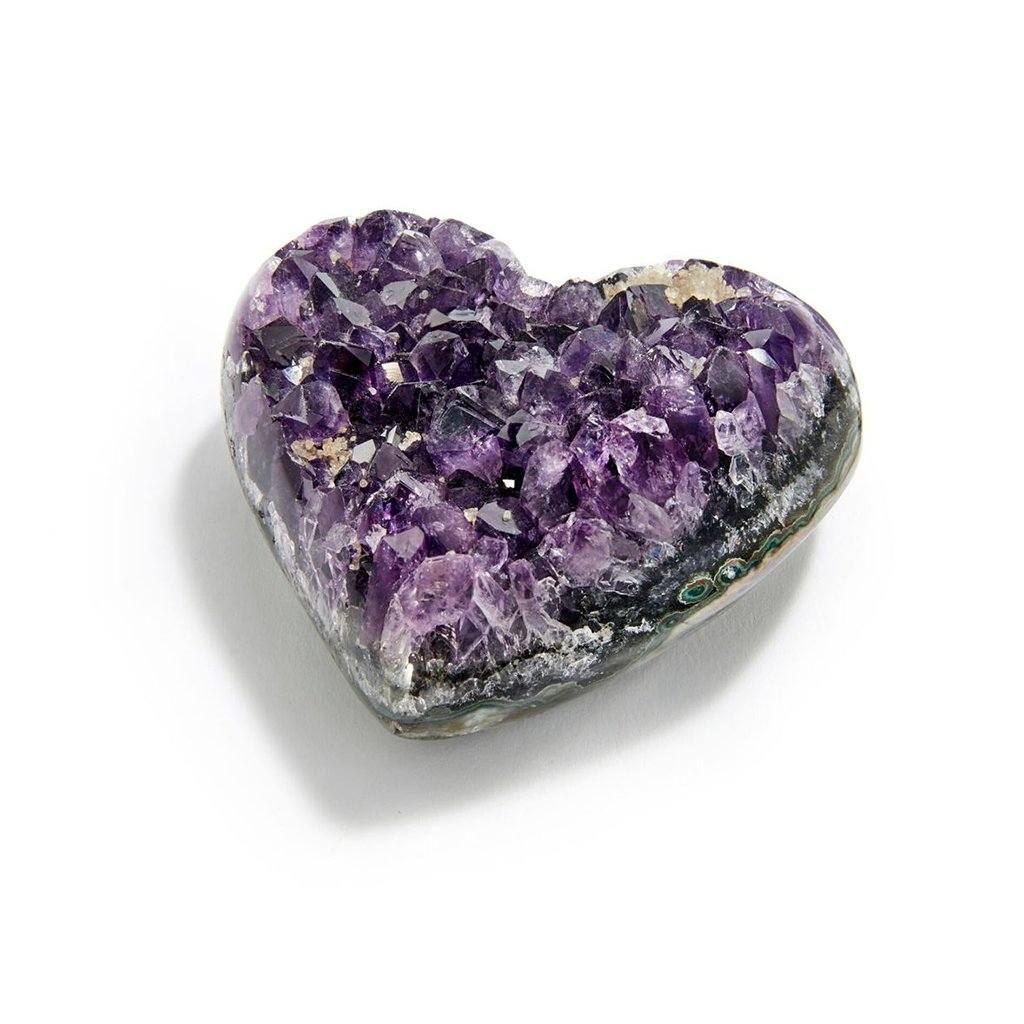 Cuore Heart Amethyst, Petit - The Emperor's Lane