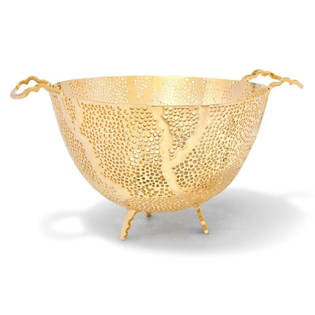 Espera 24k Gold Fruit Bowl - The Emperor's Lane