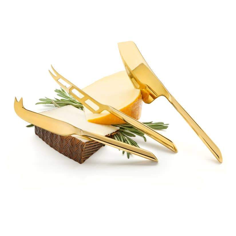 Gold Cheese Knives - The Emperor's Lane