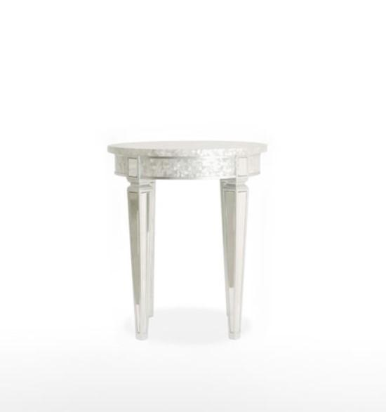 Conchi Circular Accent Table