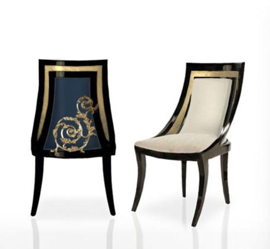 Acanthus Scoop Chair Chair Thomas & George
