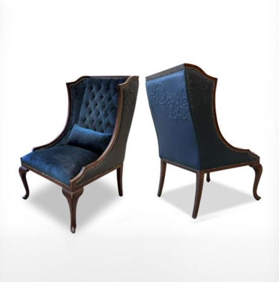 Nuovo Wing Chair - The Emperor's Lane