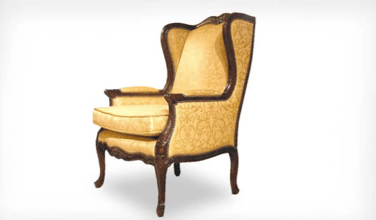 Louis XV Beregere Wing Chair - The Emperor's Lane