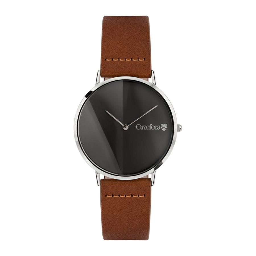 O-Time Brandy With Gunmetal Dial Watch - The Emperor's Lane