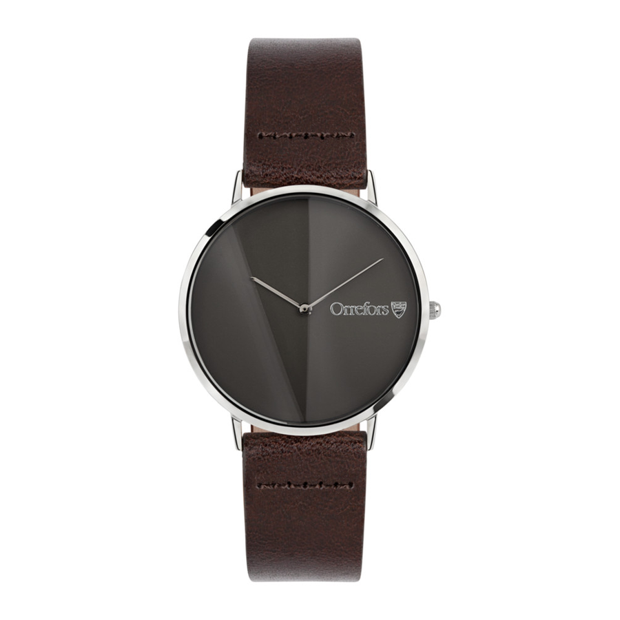 O-Time Chestnut With Gunmetal Dial Watch - The Emperor's Lane