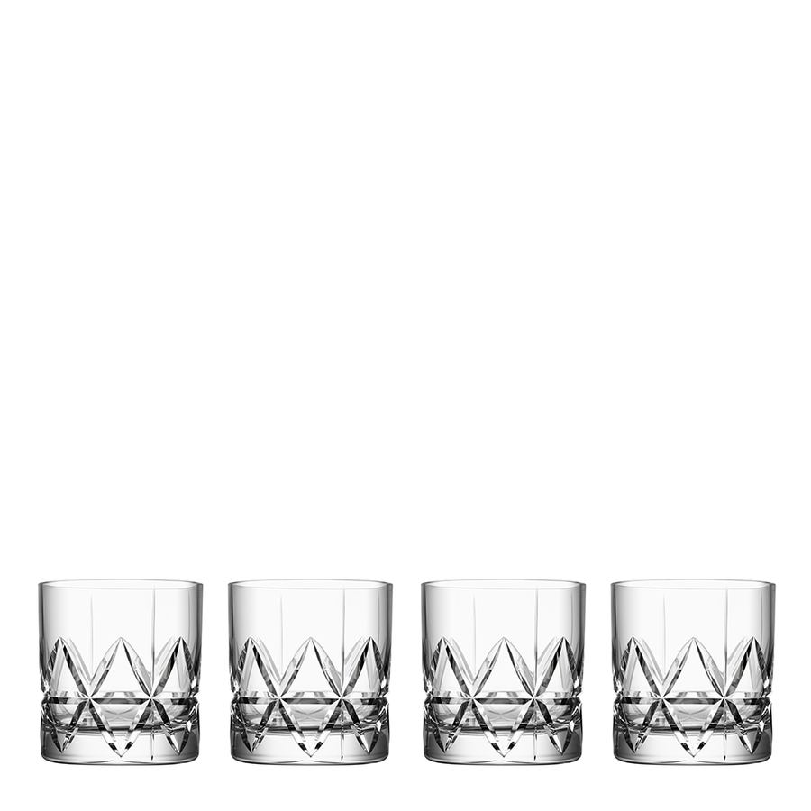 Peak Double Old Fashioned, Set of 4 – The Emperor's Lane