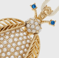 Pearl Bug Hanging Ornament, Gold - The Emperor's Lane