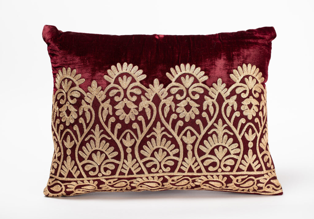 Royale Maroon Pillow