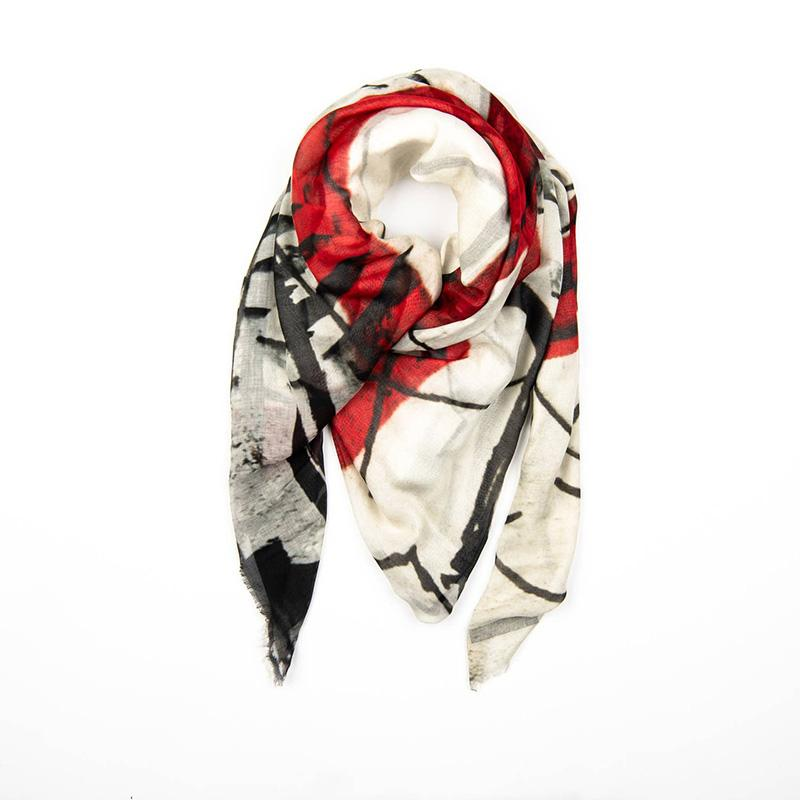 Colmar Scarf With Mask - The Emperor's Lane