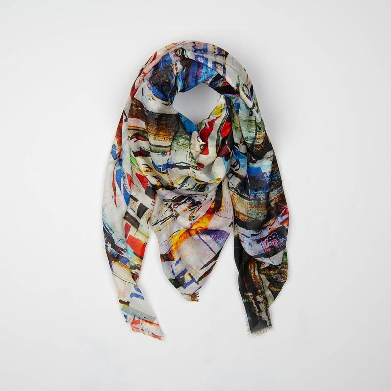 Cylindriques Scarf With Mask