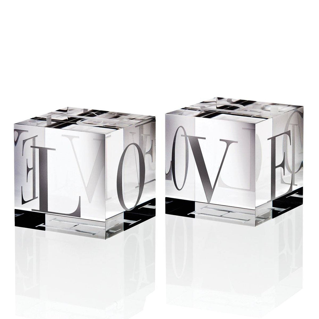 Love/Hope Glass Cube - The Emperor's Lane