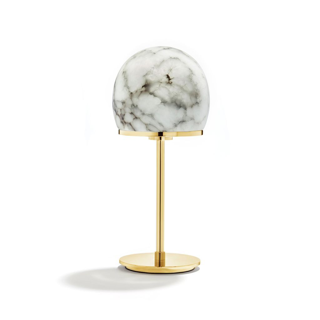 Tartufo Lamp, Alabaster Gold - The Emperor's Lane