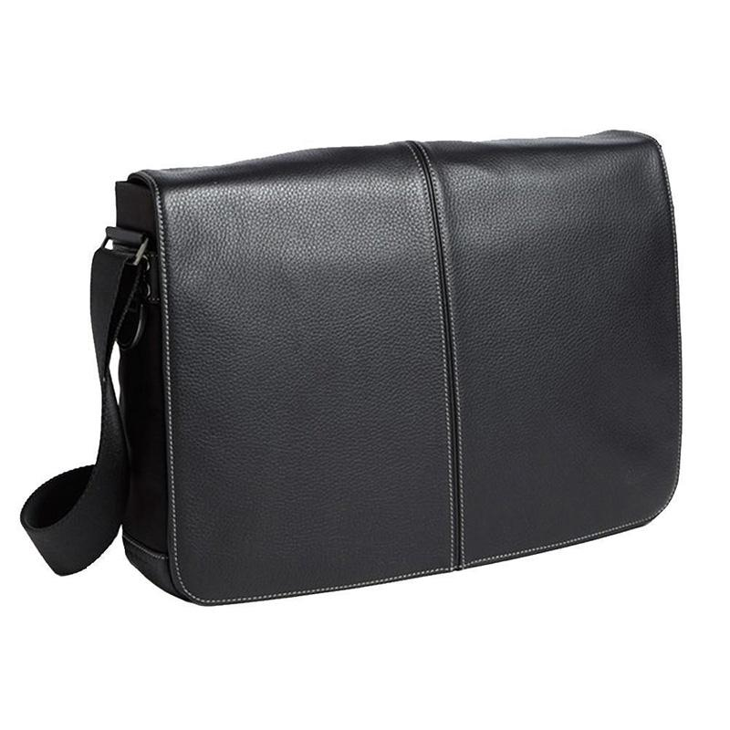 Tyler Slim Messeenger Bag, Black