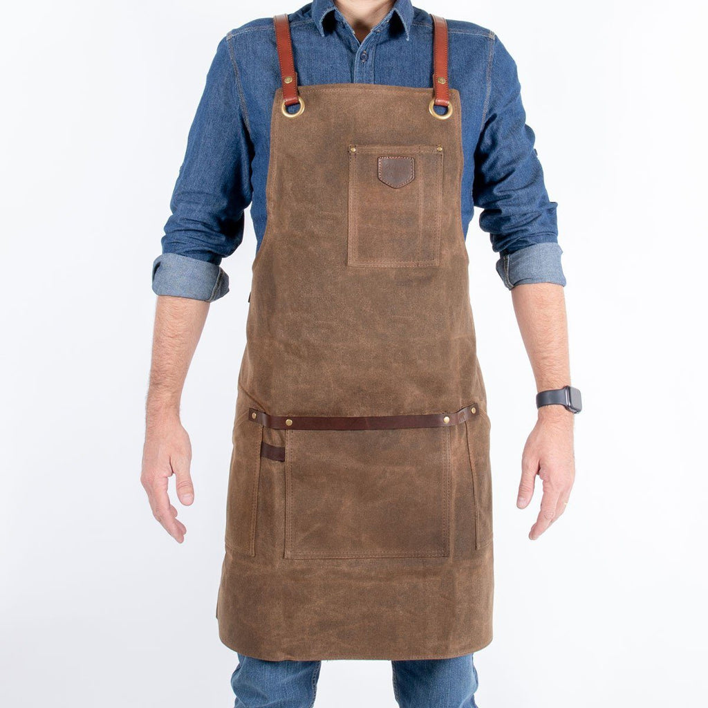 Canvas Apron, Tobacco