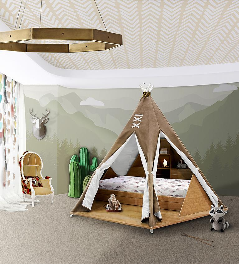Teepee Bed Room