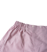 Red/White Striped Cotton Boxers
